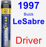 Driver Wiper Blade for 1997 Buick LeSabre - Assurance
