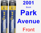 Front Wiper Blade Pack for 2001 Buick Park Avenue - Assurance