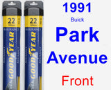 Front Wiper Blade Pack for 1991 Buick Park Avenue - Assurance