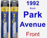 Front Wiper Blade Pack for 1992 Buick Park Avenue - Assurance