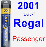 Passenger Wiper Blade for 2001 Buick Regal - Assurance