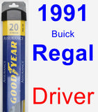 Driver Wiper Blade for 1991 Buick Regal - Assurance