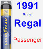 Passenger Wiper Blade for 1991 Buick Regal - Assurance