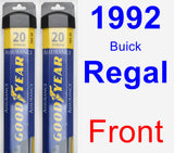 Front Wiper Blade Pack for 1992 Buick Regal - Assurance