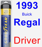 Driver Wiper Blade for 1993 Buick Regal - Assurance