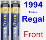 Front Wiper Blade Pack for 1994 Buick Regal - Assurance