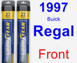 Front Wiper Blade Pack for 1997 Buick Regal - Assurance