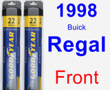 Front Wiper Blade Pack for 1998 Buick Regal - Assurance