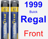 Front Wiper Blade Pack for 1999 Buick Regal - Assurance