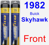 Front Wiper Blade Pack for 1982 Buick Skyhawk - Assurance
