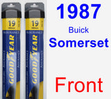 Front Wiper Blade Pack for 1987 Buick Somerset - Assurance