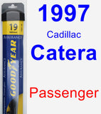Passenger Wiper Blade for 1997 Cadillac Catera - Assurance