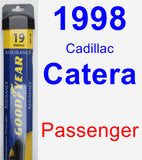 Passenger Wiper Blade for 1998 Cadillac Catera - Assurance