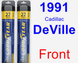 Front Wiper Blade Pack for 1991 Cadillac DeVille - Assurance
