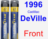 Front Wiper Blade Pack for 1996 Cadillac DeVille - Assurance