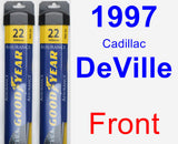 Front Wiper Blade Pack for 1997 Cadillac DeVille - Assurance