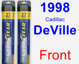 Front Wiper Blade Pack for 1998 Cadillac DeVille - Assurance