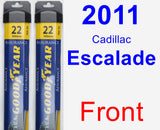 Front Wiper Blade Pack for 2011 Cadillac Escalade - Assurance