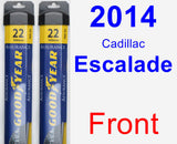 Front Wiper Blade Pack for 2014 Cadillac Escalade - Assurance