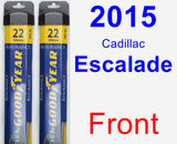 Front Wiper Blade Pack for 2015 Cadillac Escalade - Assurance