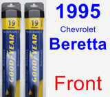Front Wiper Blade Pack for 1995 Chevrolet Beretta - Assurance