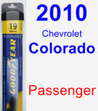 Passenger Wiper Blade for 2010 Chevrolet Colorado - Assurance
