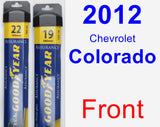 Front Wiper Blade Pack for 2012 Chevrolet Colorado - Assurance