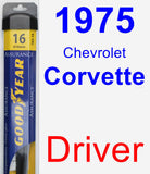 Driver Wiper Blade for 1975 Chevrolet Corvette - Assurance