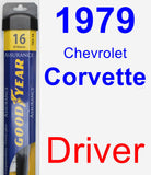 Driver Wiper Blade for 1979 Chevrolet Corvette - Assurance