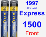 Front Wiper Blade Pack for 1997 Chevrolet Express 1500 - Assurance