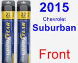 Front Wiper Blade Pack for 2015 Chevrolet Suburban - Assurance