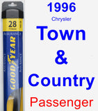 Passenger Wiper Blade for 1996 Chrysler Town & Country - Assurance