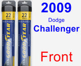 Front Wiper Blade Pack for 2009 Dodge Challenger - Assurance
