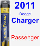 Passenger Wiper Blade for 2011 Dodge Charger - Assurance