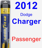 Passenger Wiper Blade for 2012 Dodge Charger - Assurance