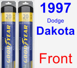 Front Wiper Blade Pack for 1997 Dodge Dakota - Assurance