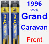 Front Wiper Blade Pack for 1996 Dodge Grand Caravan - Assurance