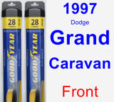 Front Wiper Blade Pack for 1997 Dodge Grand Caravan - Assurance