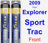 Front Wiper Blade Pack for 2009 Ford Explorer Sport Trac - Assurance