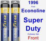 Front Wiper Blade Pack for 1996 Ford Econoline Super Duty - Assurance