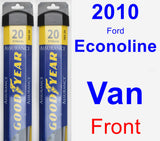 Front Wiper Blade Pack for 2010 Ford Econoline Van - Assurance