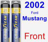 Front Wiper Blade Pack for 2002 Ford Mustang - Assurance