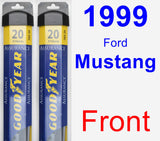 Front Wiper Blade Pack for 1999 Ford Mustang - Assurance