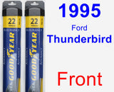 Front Wiper Blade Pack for 1995 Ford Thunderbird - Assurance