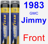 Front Wiper Blade Pack for 1983 GMC Jimmy - Assurance