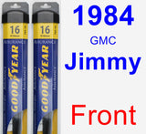 Front Wiper Blade Pack for 1984 GMC Jimmy - Assurance