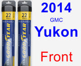 Front Wiper Blade Pack for 2014 GMC Yukon - Assurance