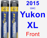 Front Wiper Blade Pack for 2015 GMC Yukon XL - Assurance