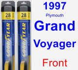 Front Wiper Blade Pack for 1997 Plymouth Grand Voyager - Assurance