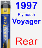 Rear Wiper Blade for 1997 Plymouth Voyager - Assurance